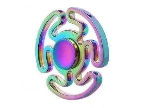 KG Fidget Hand Spinner (1109) Rainbow Maze Style
