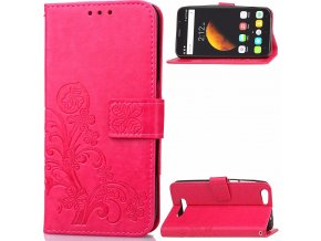 KG pouzdro Wallet Style Cubot Dinosaur (5001) Rose Red