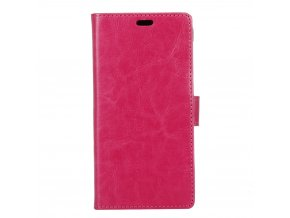KG pouzdro Wallet Style Doogee X9 Pro (5006) Rose Red