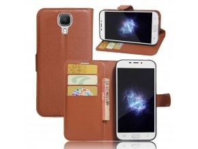 KG pouzdro Wallet Style 2 Doogee X9 (5001) Brown