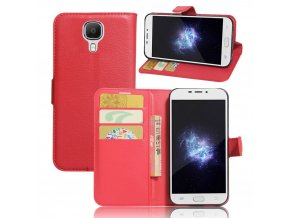 KG pouzdro Wallet Style 2 Doogee X9 (5001) Red
