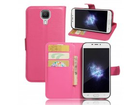 KG pouzdro Wallet Style 2 Doogee X9 (5001) Rose Red
