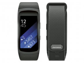 Samsung Galaxy Gear Fit 2 R360 Black - vel. L