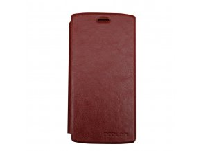 KG pouzdro Wallet Style Doogee Homtom HT7 (20170609) Brown