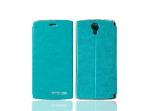 KG pouzdro Wallet Style Doogee Homtom HT7 (20170609) Blue