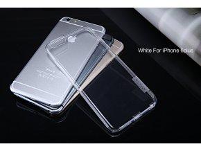 Silikonové pouzdro Nillkin Nature Apple iPhone 6 Plus White