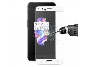 KG tvrzené sklo pro ochranu displeje OnePlus 5 - White