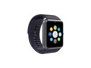 SmartWatch GT08 black + ochranná folie zdarma  Akční cena platí pouze do 18.12 nebo do vyprodání zásob