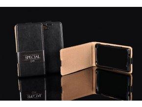 KG pouzdro kožené pro Huawei P10 Plus Black