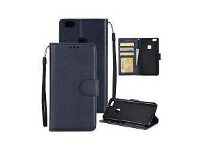 KG pouzdro Wallet Style Huawei P10 (5001) Dark Blue
