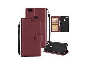 KG pouzdro Wallet Style Huawei P10 (5001) Vine Red
