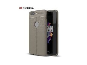 Silikonové pouzdro pro OnePlus 5 | Grey