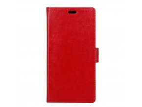 Flipové pouzdro pro Xiaomi Mi A1 | WALLET | Red