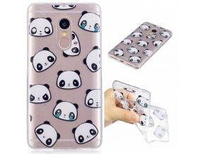 KG silikonové pouzdro Xiaomi Redmi Note 4 - Panda