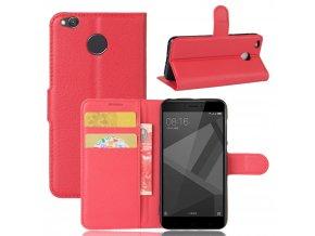 Flipové pouzdro pro Huawei Honor 4X | WALLET | Red