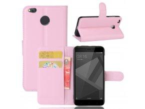Flipové pouzdro pro Huawei Honor 4X | WALLET | Pink