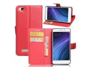 Flipové pouzdro pro Huawei Honor 4A/Y6 | WALLET | Red