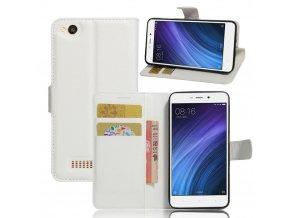 Flipové pouzdro pro Huawei Honor 4A/Y6 | WALLET | White