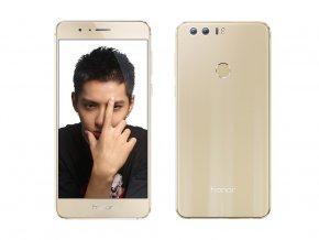 Huawei Honor 8 64GB Dual Sim Gold - Bazarový telefon