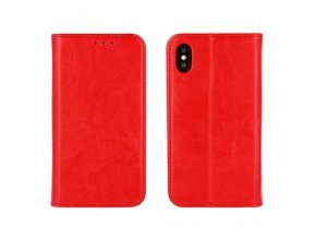 Flipové pouzdro pro Samsung Galaxy S9 Plus   WALLET   Red
