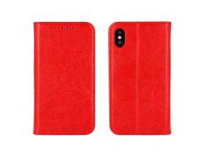Flipové pouzdro pro Samsung Galaxy S9 Plus | WALLET | Red