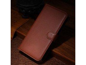 Flipové pouzdro pro Motorola Nexus 6 | WALLET | Brown