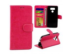 Flipové pouzdro pro LG G6 | WALLET | Pink