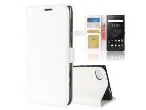 Flipové pouzdro pro Blackberry Motion   WALLET   White