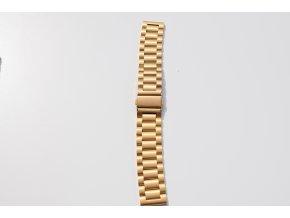 Xiaomi Amazfit Bip luxusní ocelový náramek Zlatá