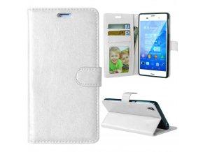 Flipové pouzdro pro Sony Xperia Z3 | WALLET | White