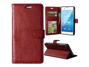 Flipové pouzdro pro Sony Xperia Z3 | WALLET | Brown