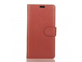 Flipové pouzdro pro LG X Power 2 | WALLET | Brown