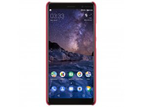 Pouzdro Nillkin Frosted Shield Nokia 7 Plus Red