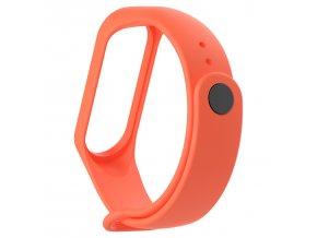 Xiaomi MiBand 3 / MiBand 4 náhradní náramek Neon Orange
