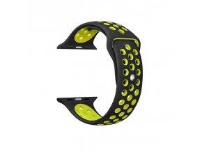 Apple Watch náhradní náramek 38mm Sport Black/Green