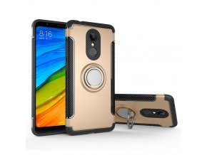 Silikonové pouzdro 2in1 pro Xiaomi Redmi 5 | MAGNETIC | Gold
