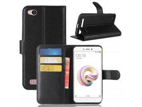 Flipové pouzdro pro Xiaomi Redmi 5A | WALLET | Black