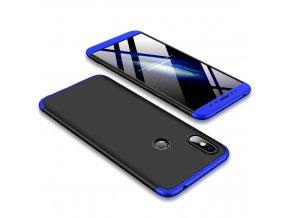 Plastové pouzdro pro Xiaomi Redmi S2 třífázové | Blue/Black