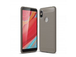 Silikonové pouzdro pro Xiaomi Redmi S2 | Carbon Grey