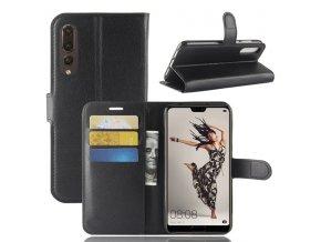 Flipové pouzdro pro Huawei P20 Pro | WALLET | Black