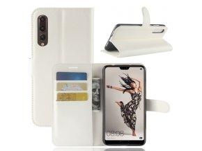 Flipové pouzdro pro Huawei P20 Pro | WALLET | White