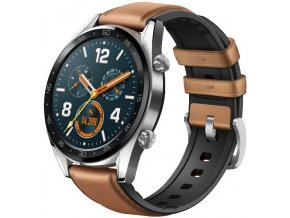 Huawei Watch GT Brown Leather Silicone