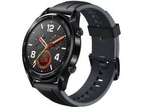 Huawei Watch GT Black Silicone  + akční cena platí pouze do neděle 31.3.2019