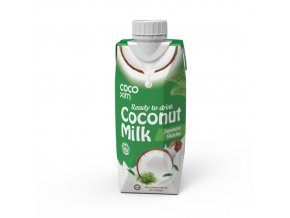 Kokosové mléko matcha330ml 1 500x500