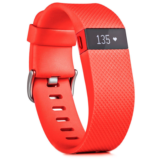 Fitbit Charge HR Tangerine (L)