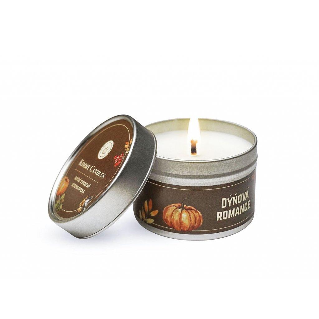 kimmy candles sojova svicka mala dynova romance