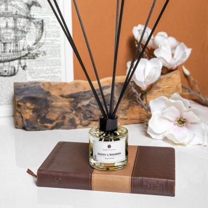 kimmy candles aroma difuzer svestky a rebarbora