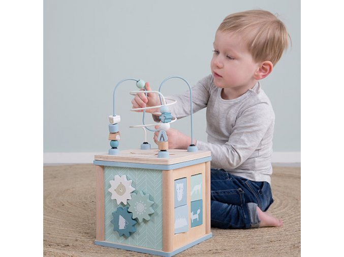 little dutch activiteiten kubus speeltafel baby adventure blue 8 600x600