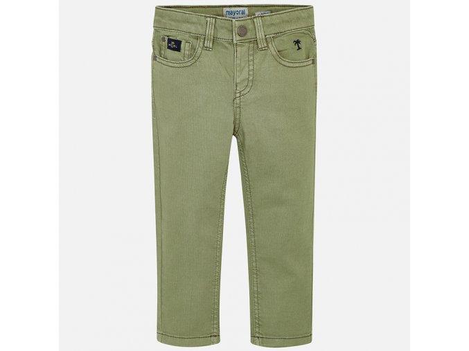 Kalhoty ADVENTURE khaki MINI Mayoral