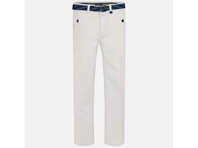 Kalhoty s páskem světle šedé JUNIOR MAYORAL